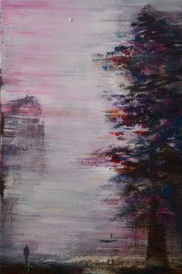 XIANWEI ZHU I waiting for you 1 I Acryl auf Leinwand I 60 x 40 cm