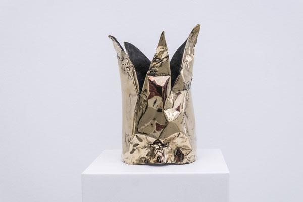 DAVID UESSEM  I  Silence is Golden  I  Bronze  I  32 x 17 cm