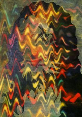 IVO LUCAS  I  ML  I  Öl auf Leinwand  I  100 x 70 cm