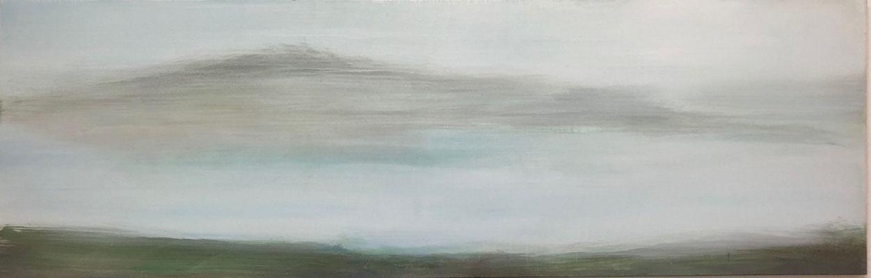XIANWEI ZHU  I  in silence  I  Acryl auf Leinwand  I  65 x 200 cm