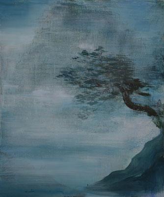 XIANWEI ZHU  I  back to the roots  I  Acryl auf Leinwand  I  180 x 150 cm