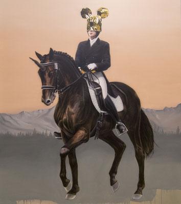 DAVID UESSEM  I  usm royal  I  Öl und Acryl auf Leinwand  I  180 x 140 cm