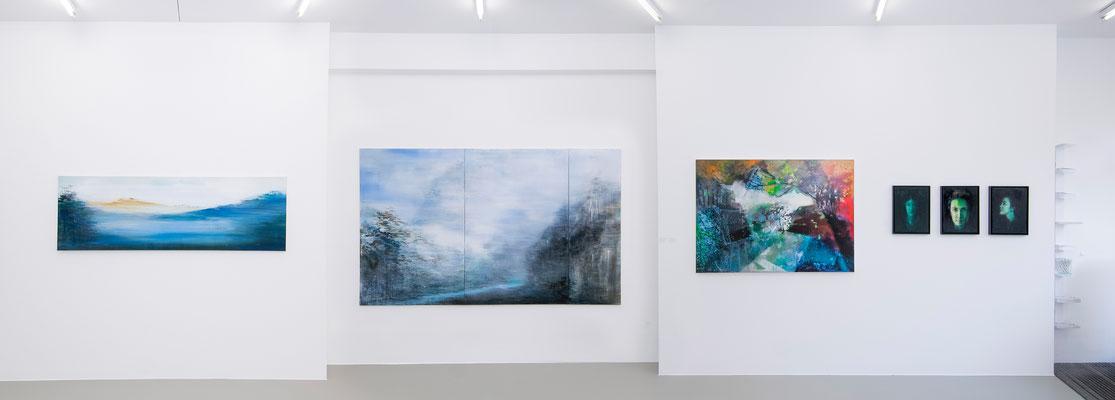 Ausstellungsansicht 3 INDEX 20: Xianwei Zhu, Jiny Lan