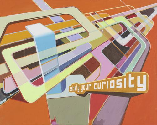 LUCIA DELLEFANT  I  curiosity  I  Acryl auf Leinwand  I  80 x 100 cm