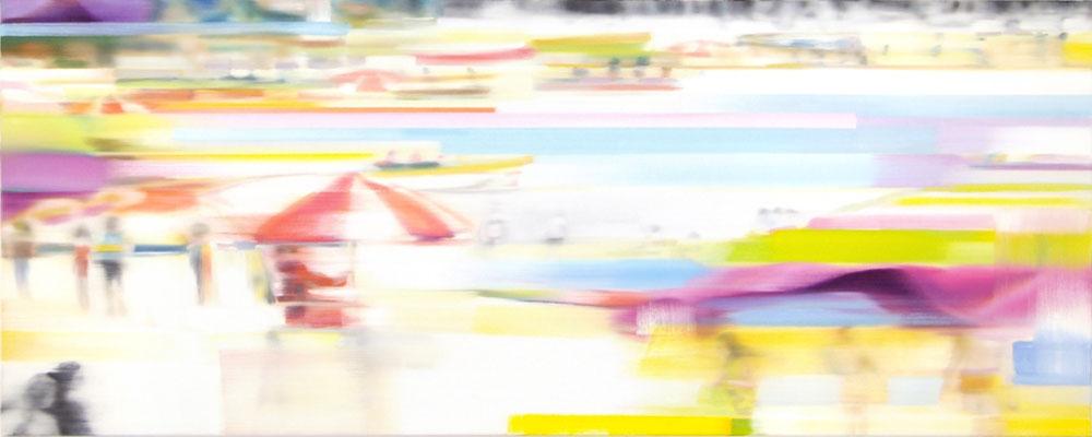 MARTIN HERLER  I  Öl auf Leinwand  I  70 x 180 cm