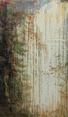 XIANWEI ZHU  I  lightness  I  Acryl auf Leinwand  I  41 x 24 cm