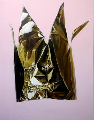 DAVID UESSEM  I  crown  I  Öl und Acryl auf Leinwand  I  80 x 60 cm