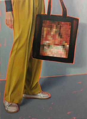 HOLGER KURT JÄGER  I  Arty farty  I  Öl auf Leinwand  I  120 x 90 cm