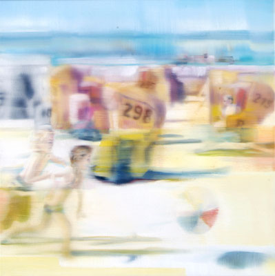 MARTIN HERLER  I  Sylt II  I  Öl auf Leinwand  I  60 x 60 cm