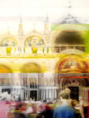 MARTIN HERLER  I  Venice, S. Marco  I  Öl auf Leinwand  I  80 x 60 cm
