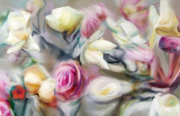 MARTIN HERLER  I  Symphonie de coeur  I  Öl auf Leinwand  I  110 x 170 cm