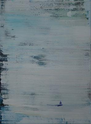 XIANWEI ZHU  I  silence  I  Acryl auf Leinwand  I  40 x 30 cm