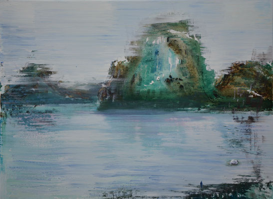 XIANWEI ZHU  I  breeze blows  I  Acryl auf Leinwand  I  54 x 73 cm