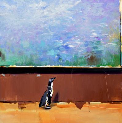 ALPAY EFE  I  Fine Art Connoisseur (Monet)  I  Öl auf Holz  I  40 x 40 cm
