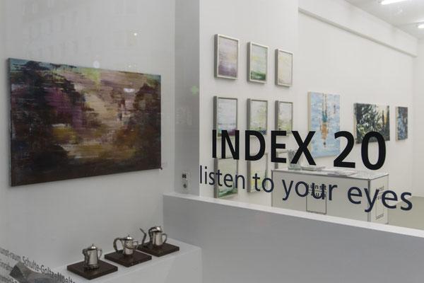 Ausstellungsansicht 1 INDEX 20