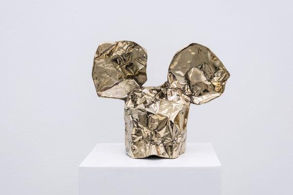 DAVID UESSEM  I  Danger Mouse  I  Bronze  I  31 x 28 cm