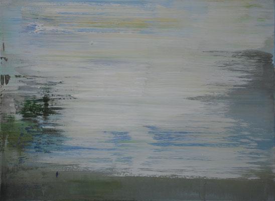 XIANWEI ZHU  I  riverside  I  Acryl auf Leinwand  I  54 x 73 cm