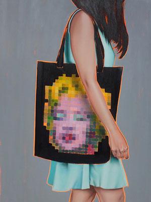 HOLGER KURT JÄGER  I  Arty farty Marilyn  I  Öl auf Leinwand  I  120 x 90 cm