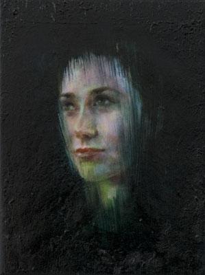 JINY LAN  I Eurasia - Fu lan  I  Öl auf Leinwand  I   40 x 30  cm