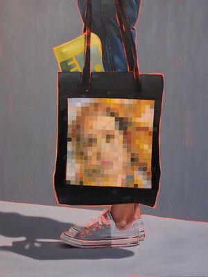 HOLGER KURT JÄGER  I  Arty farty Venus  I  Öl auf Leinwand  I  120 x 90 cm