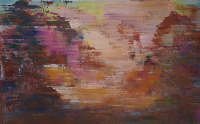 XIANWEI ZHU  I  peace I  Acryl auf Leinwand  I  50 x 60 cm