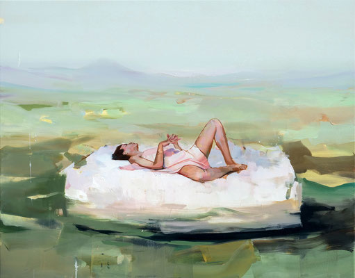 ALPAY EFE  I  Skybound  I  Öl auf Leinwand  I  80 x 100 cm