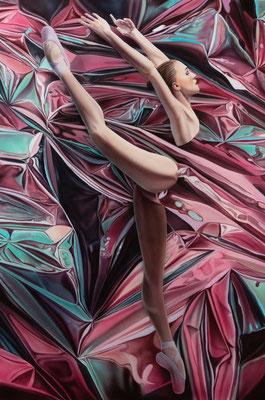 DAVID UESSEM  I  Touching the Void  I  Öl auf Leinwand  I  100 x 70 cm