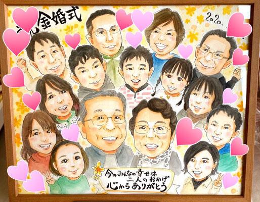大家族の幸せな形ー長寿のお祝いー