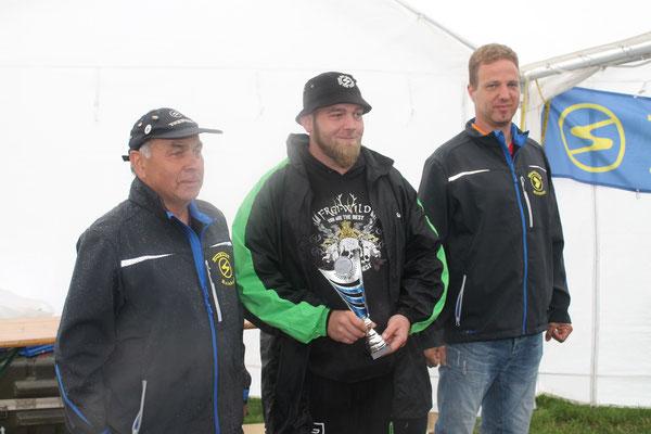 3. Platz Stephan Gries aus Burg, Trabant mit Wartburgmotor