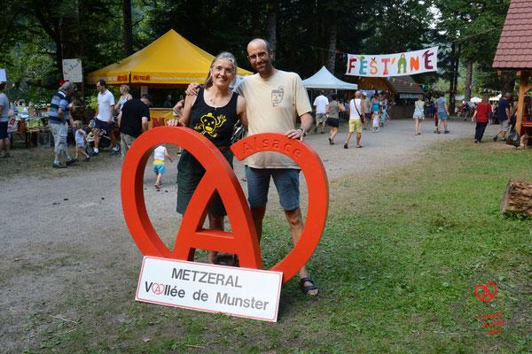 Marie-Françoise et Frédéric, Fest'Ane Metzeral, 2018