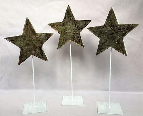Sterne Höhe 35/37 und 40 cm