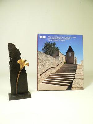 """""""Prix départemental d'architecture et d'aménagement paysager"""" Trophée CAUE de la Vendée"""