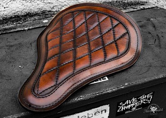 BMW R 80 Cafe Racer Solo Sitz Custom Stitching