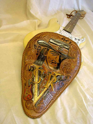 Tribute to Steve Ray Vaughan Solo Sitz One of the best Guitar Player of the World! eigenes Design 4 Sale
