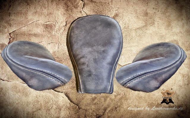 original 48 Sitz in used Look Leder braun