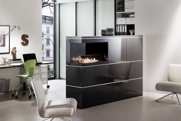 Ebios Fire Architects Collection Einbaukamine