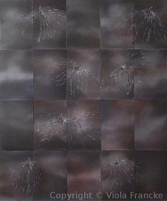 'Mitternachtsquadrille' - 60 x 50 cm