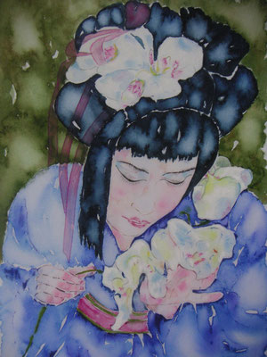 Japanerin (Orchideen)