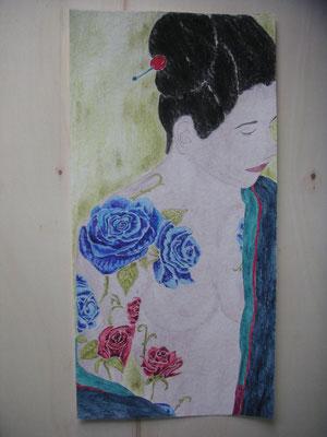 Japan Tattoo Rose