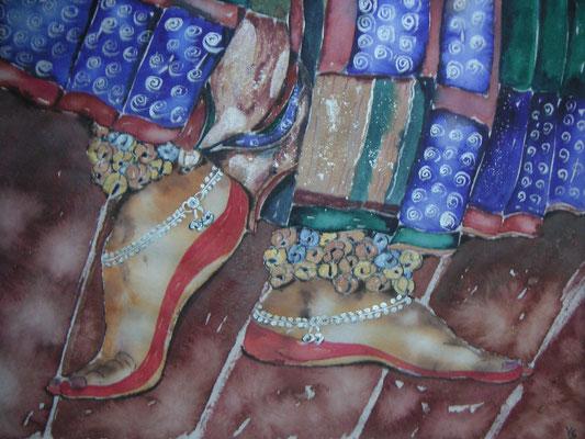 Tanzende Füße (Indien)