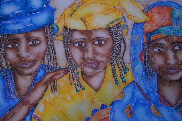 3 Frauen Afrika