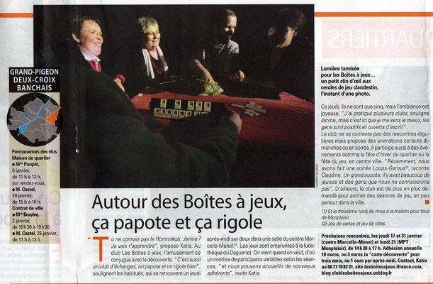 journal Vivre à Angers déc.2007