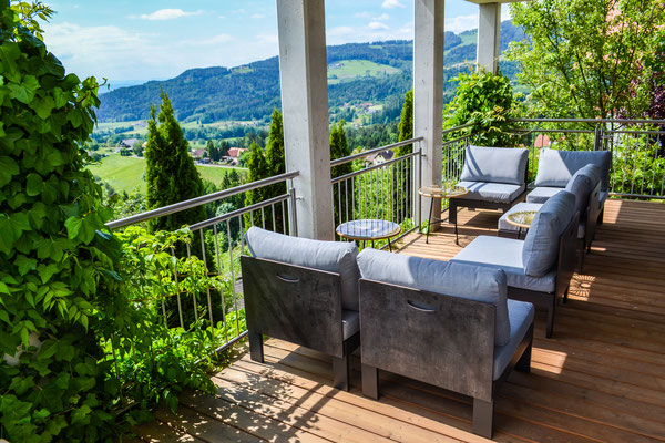 Terrasse Wohnbereich / terrace living area
