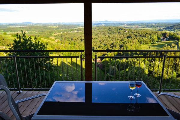 Terrasse Essbereich / terrace dining area