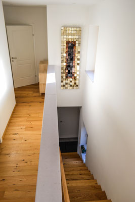 Obergeschoß, Treppe / upper floor and staircase