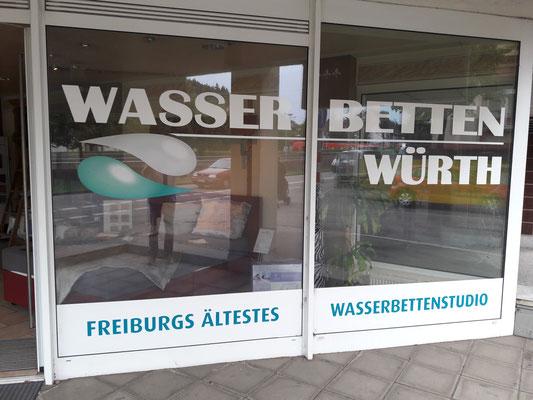 Wasserbetten Wuerth Ladengeschäft Freiburg