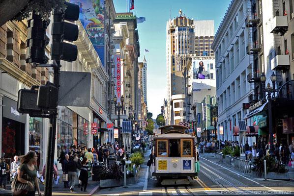 USA, Kalifornien, San Francisco, Cable Car
