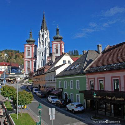 Österreich, Obersteiermark, Wallfahrtsort Mariazell, Basilika Mariä Geburt