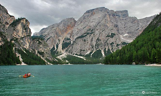 Italien, Südtirol, Pragser-Dolomiten und Pragser Wildsee