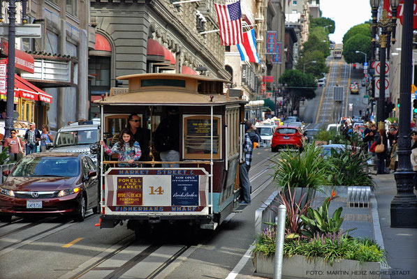 USA, Kalifornien, San Francisco, Cable Car